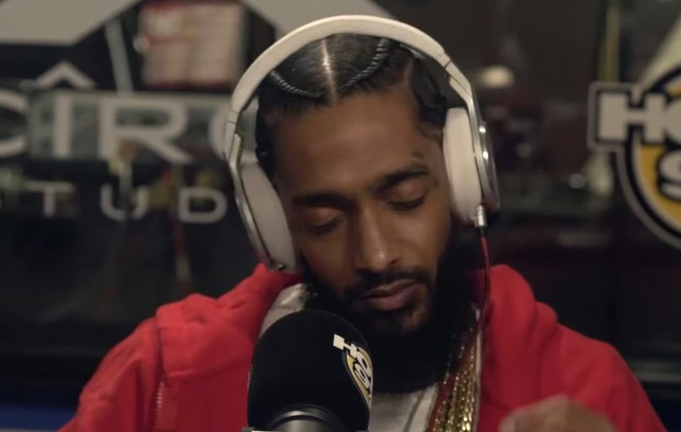 Nipsey Hussle freestyles on a Nas classi...