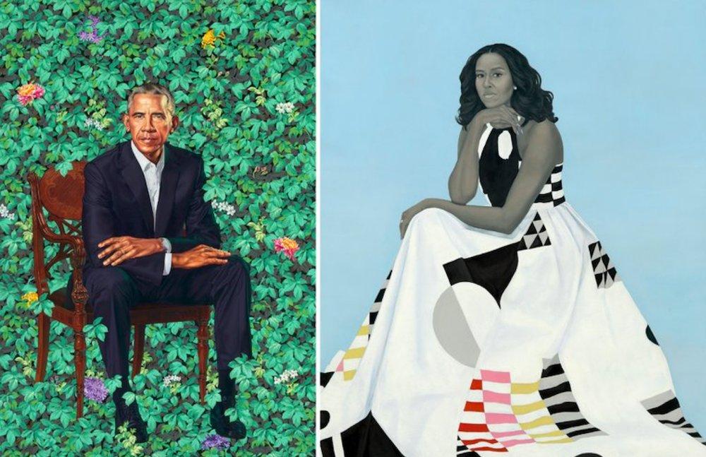 #ObamaPortraits spark vigorous artistic...