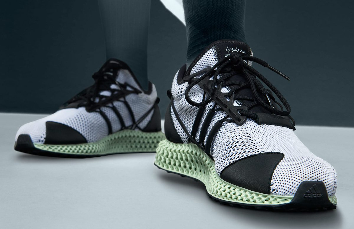 Adidas Y-3's 4D runner releases this week: https://t.co/5pJKxtuCdf