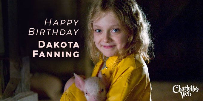 Happy Birthday to the amazing Dakota Fanning!