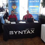 Huge thanks to our good friends at @syntax_systems from the good folks at the @RMOUG_ORG #td18 conference. More info at https://t.co/qnmB7cZFqW  @oracle #ERP @Oracle_EBS @jdedwards