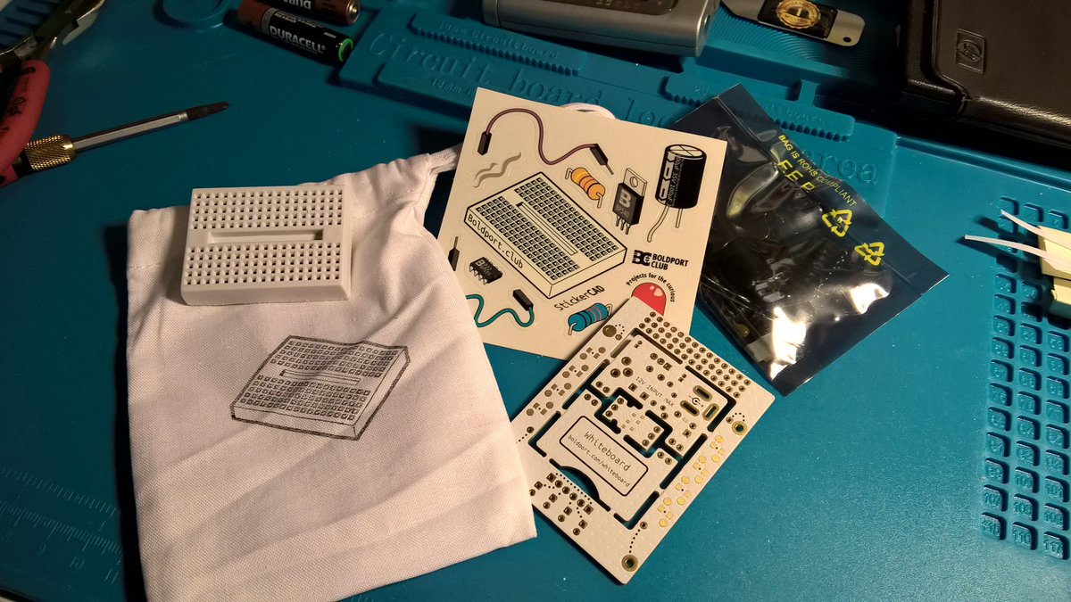 Today my #BoldportClub project arrived. Meet #Whiteboard.