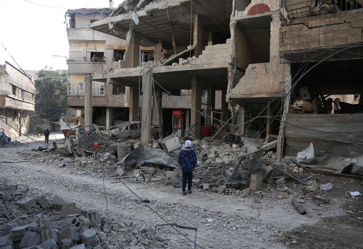 Ghouta orientale. Le Kremlin veut une réunion d'urgence à l'ONU https://t.co/8TXpPRbaKL