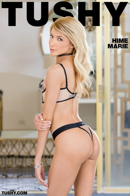 How lucky are we that we get @HimexMarie's new #tushy feature to help us get over #humpday! 🙌 https://t