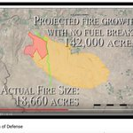 This is a FANTASTIC little vid from Twin Falls BLM on the success of a fuel break in Idaho during a 2017 fire predicted to be over 140k acres.  Did you catch the shout out to local RFPAs?  https://t.co/YP0UpMsoVz  #cohesivestrategy