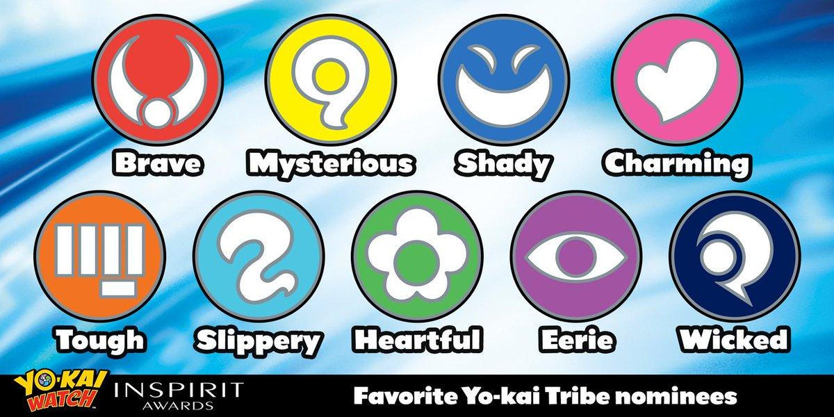 yo kai watch on twitter which tribe has the best yo kai vote for
