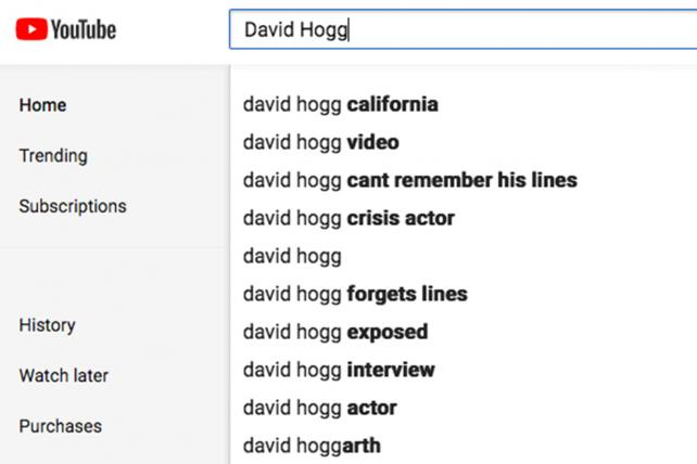 YouTube's search autofills Florida shooting hoax suggestions https://t.co/XRpp35iUF8 https://t.co/eN4tswXSc3