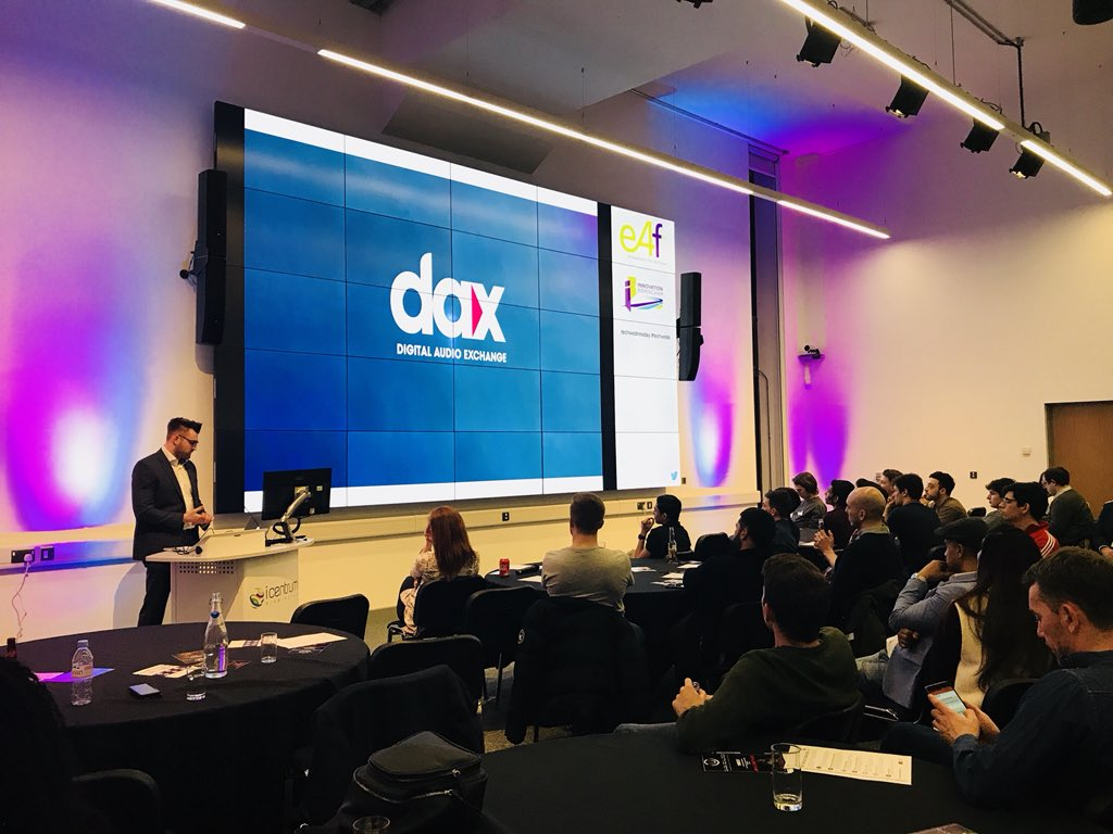 Innovation Birmingham On Twitter Great To Hear From Global At Our Digital Audio Platform An Insight Into The Future Of Through Its New Advertising Dax Delivering Targeted Adverts Those Streaming Digitally
