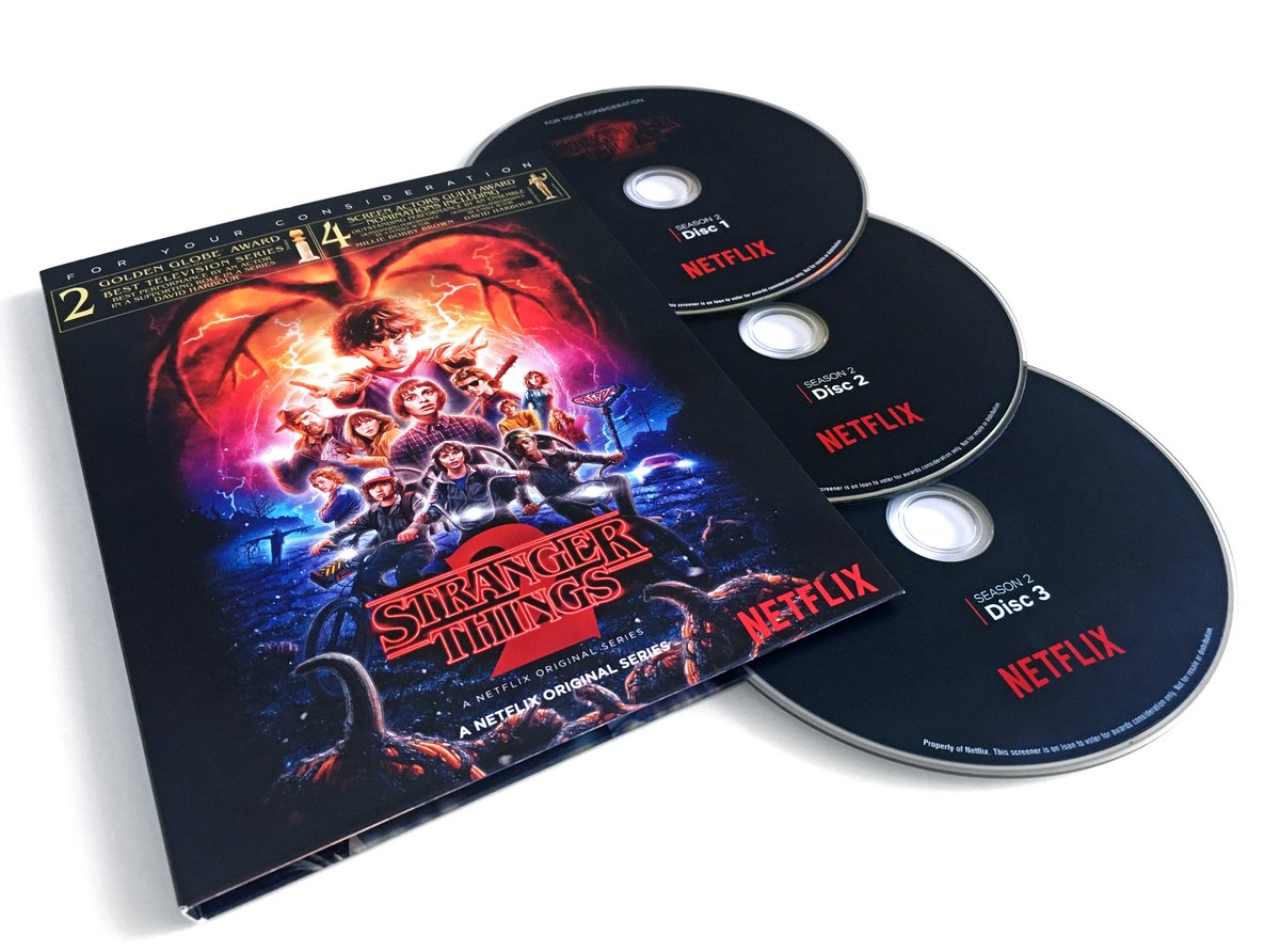 Stranger Things 2 Awards Screener DVD / For Your Consideration DWlNiZyVMAAkg-5