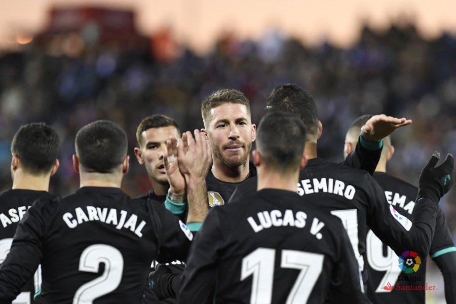 أهداف مباراة ريال مدريد وليغانيس كاملة