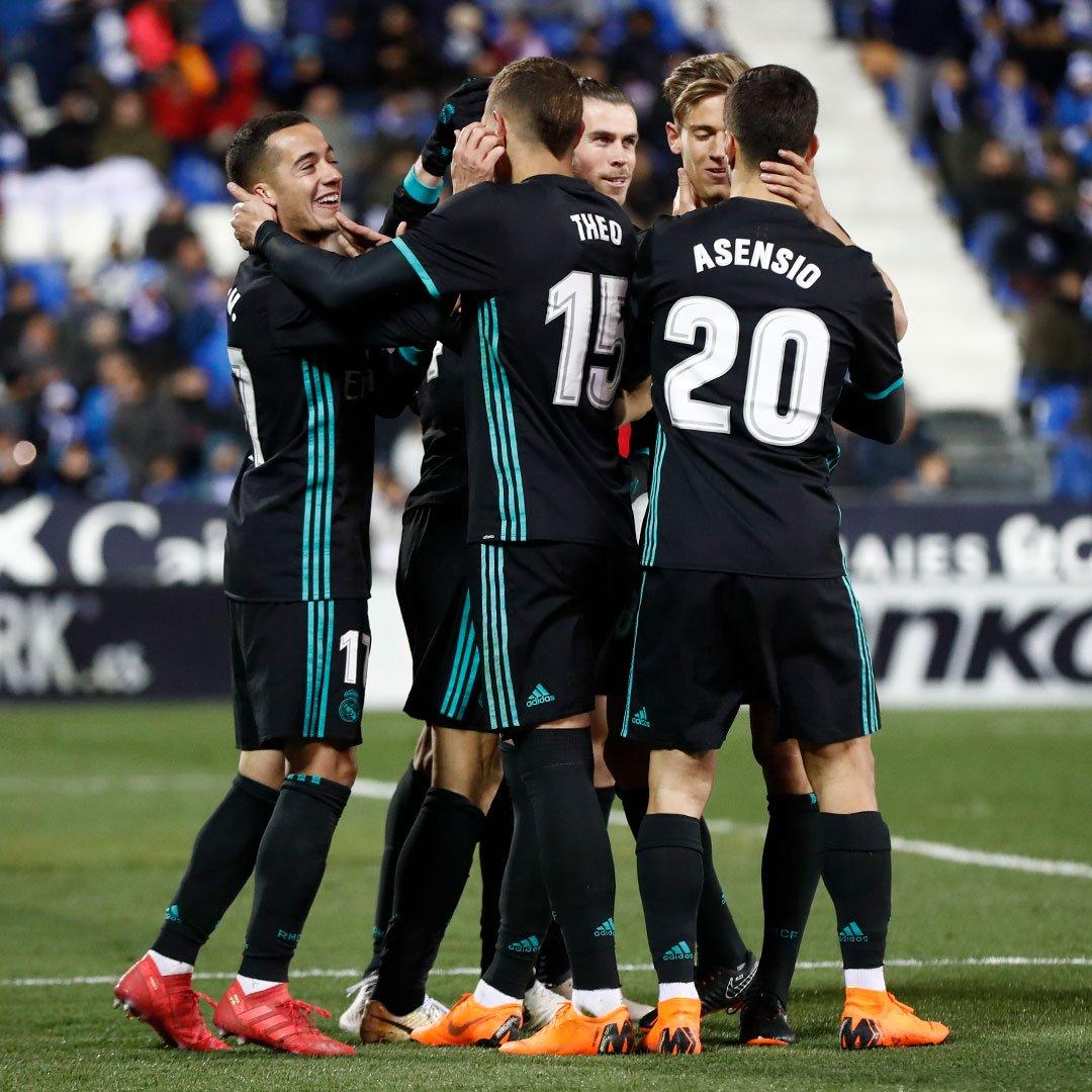 Real Madrid vence Leganés em jogo atrasado