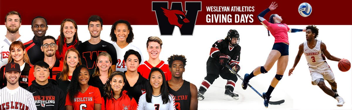 test Twitter Media - Join @Wes_Athletics from Feb. 21-28 for the Wesleyan Athletics Giving Days (WAGD) competitive fundraising initiative. For a week, athletic teams compete for the greatest percentage of donor participation for their sport. Read more: https://t.co/q7bki1Tnvb https://t.co/zY6QyIDtzm