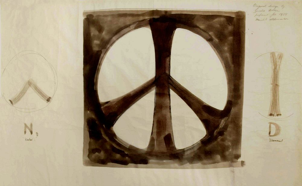 Print Magazine On Twitter Gerald Holtom Designed The Peace Symbol