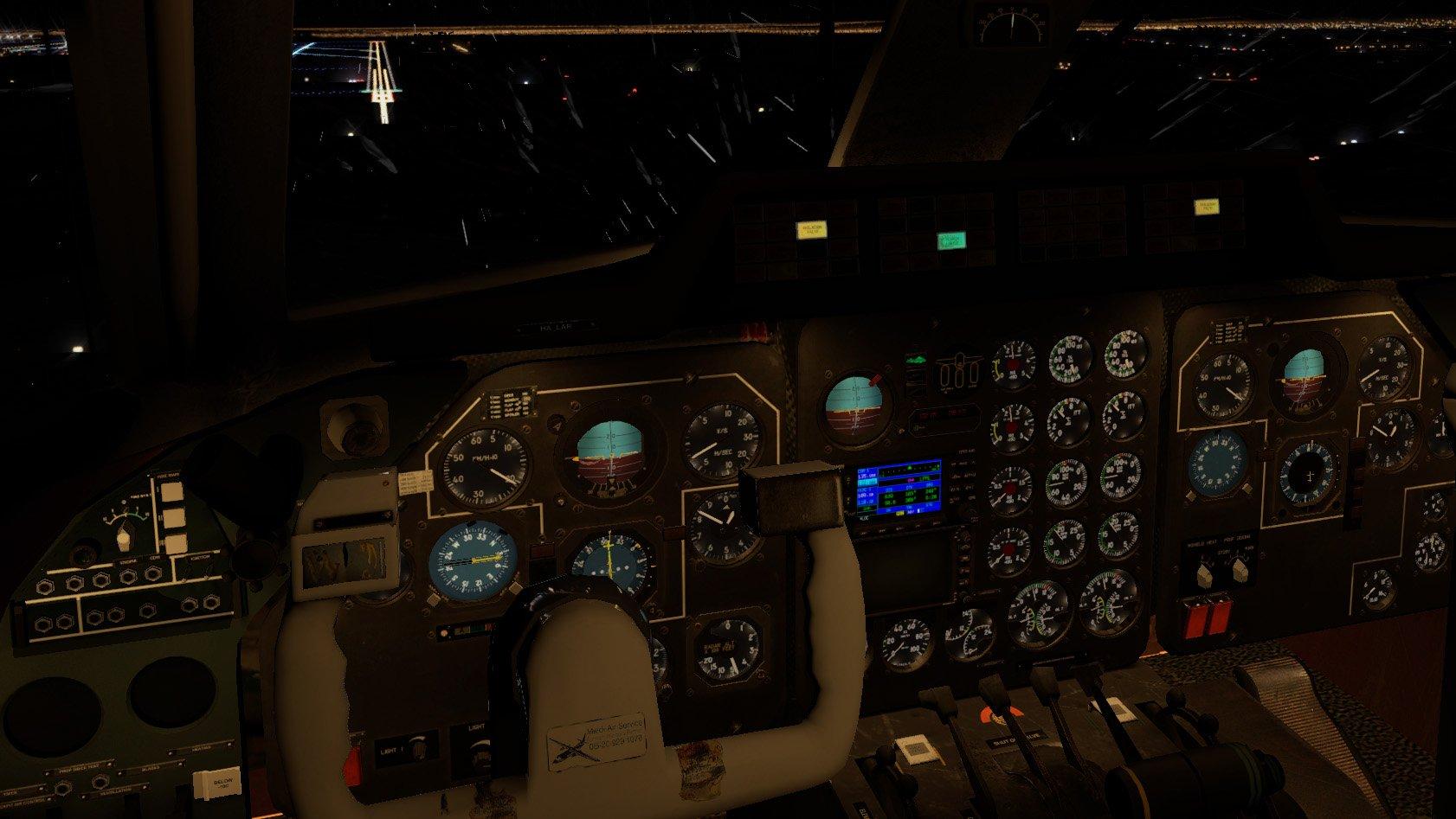 Let L-410 - fények, miegymás