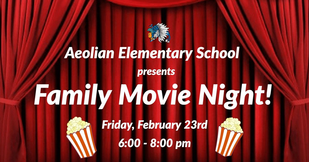 Pop on over for a Family Movie Night on...
