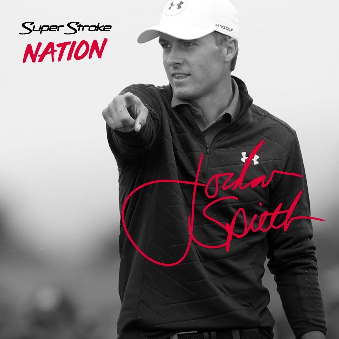 I've joined forces with my friends at @SuperStrokeGolf to give away 3 signed flags celebrating my 3rd Major Championship! Follow @SuperStrokeGolf Retweet this post EXTRA CHANCE TO WIN: Join SuperStrokeNation.com