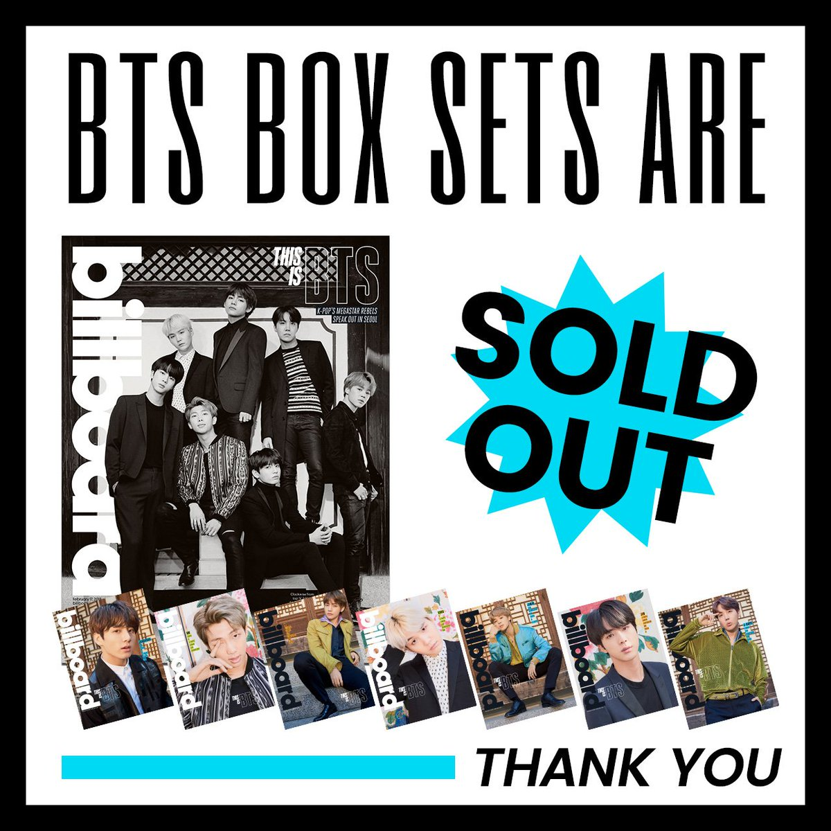 🚨 Officially sold out. 🚨   Thanks #BTSAr...