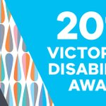Do you know someone who's making an outstanding contribution to the lives of people with #disability? Nominations are now open for the #VicDisabilityAwards Who could you nominate? https://t.co/gRKttYJCTU