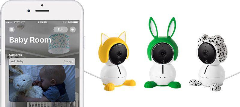 Netgear's 'Arlo Baby' Smart Cameras Now Offer HomeKit Support https://t.co/sFCdMTw3z2 by @julipuli