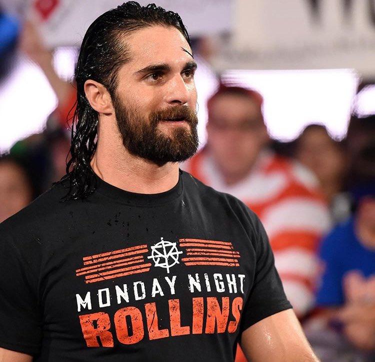 Raw es @WWERollins. #MondayNightROLLINS...