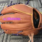 Image for the Tweet beginning: Custom Mizuno Pro LE with