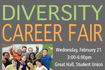 Come out to the Great Hall in the Union today for a Diversity Career Fair sponsored by @uncucs! Representatives from organizations that have full-time positions and internships available in North Carolina and throughout the U.S will be present. https://t.co/JbWLlke2F3