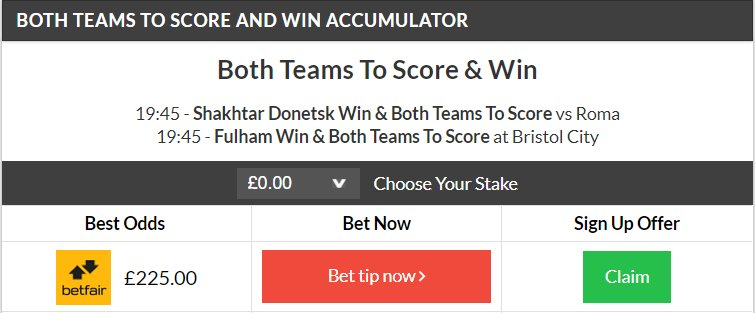 super tips both teams to score betting