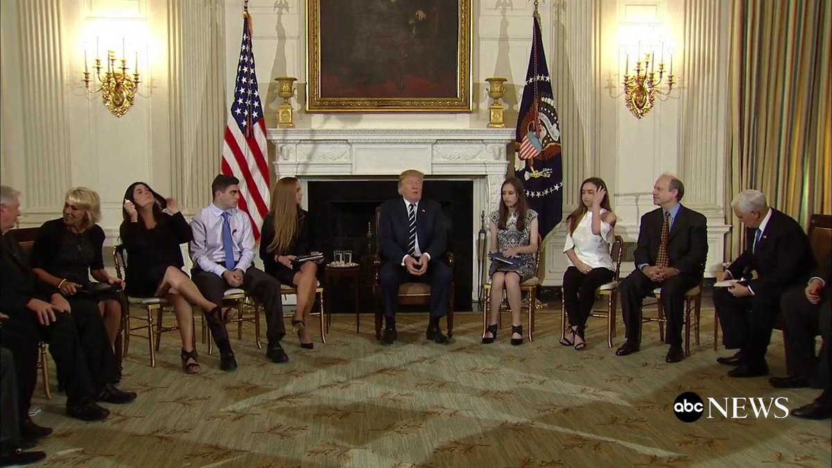 Pres. Trump opens a listening session on gun violence with students and parents in the wake of the deadly Florida school shooting: Were going to do something about this horrible situation thats going on. abcn.ws/2sNNhIC