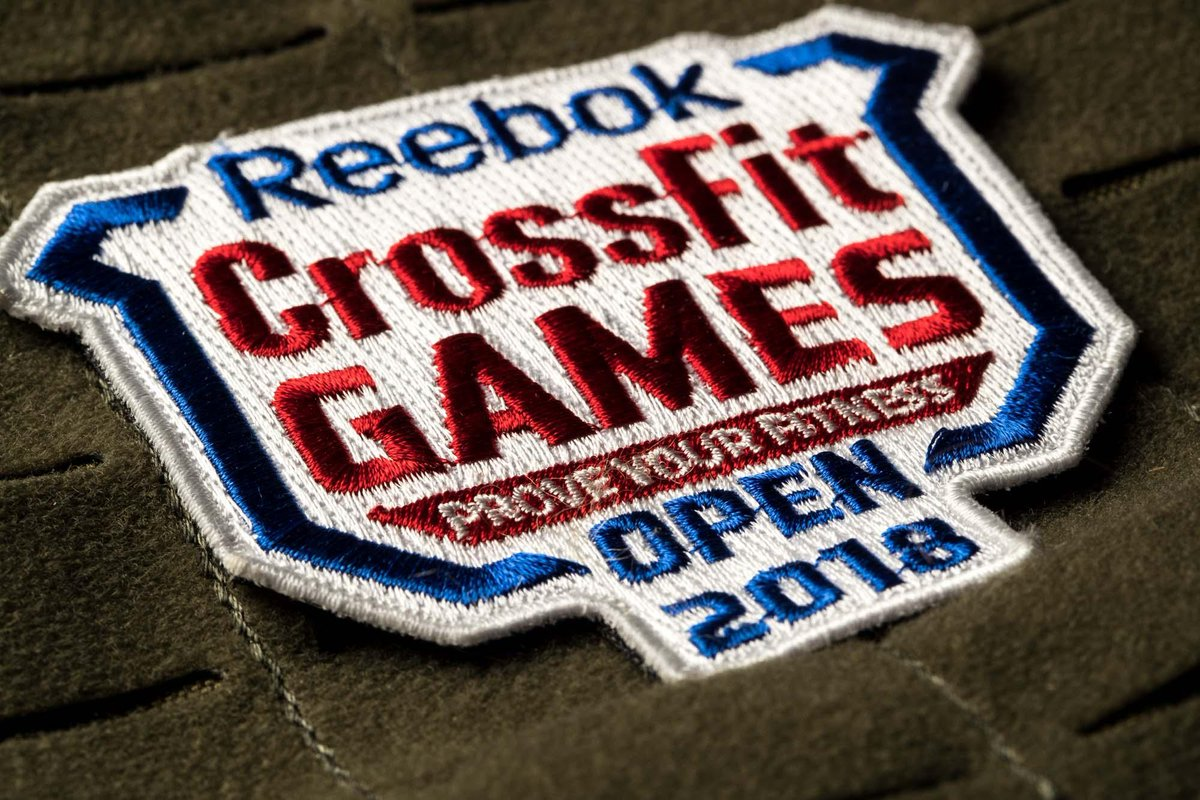 The Crossfit Games On Twitter Official Embroidered Patches And