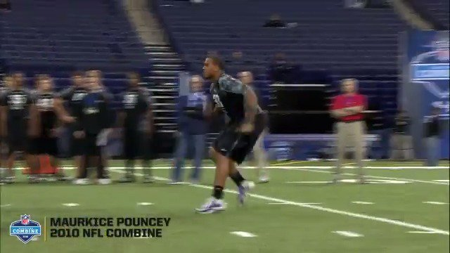 Before he was No.5️⃣3️⃣ in Pittsburgh, @MaurkicePouncey was OL33 from @GatorsFB.  #NFLCombine https://t.co/eiXX20wR7Y