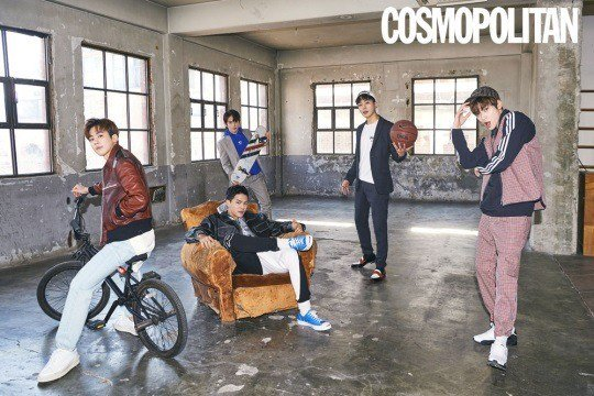 TEEN TOP talk about their comeback + C.A.P's cooking skills in 'Cosmopolitan' https://t.co/O4vrrS9BnX