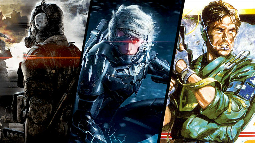 All the Metal Gear games Kojima actually...