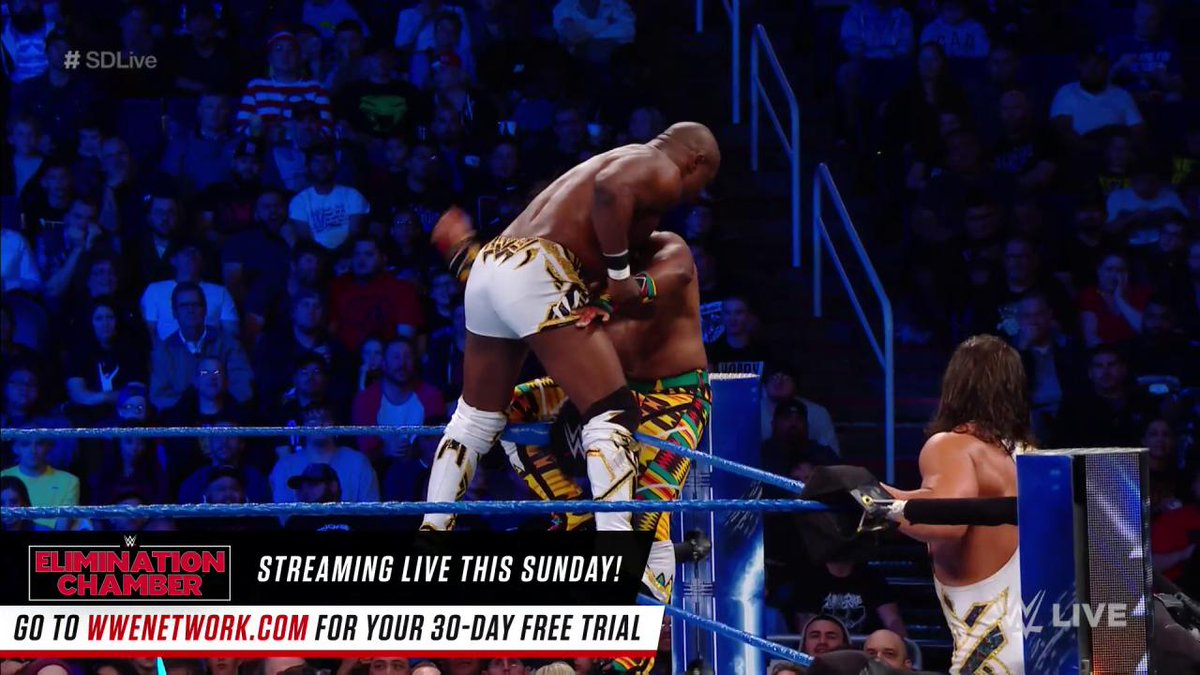 Which team punched a ticket to meet The @WWEUsos at #WWEFastlane: #TheNewDay or @WWEGable & @Sheltyb803?! #SDLive