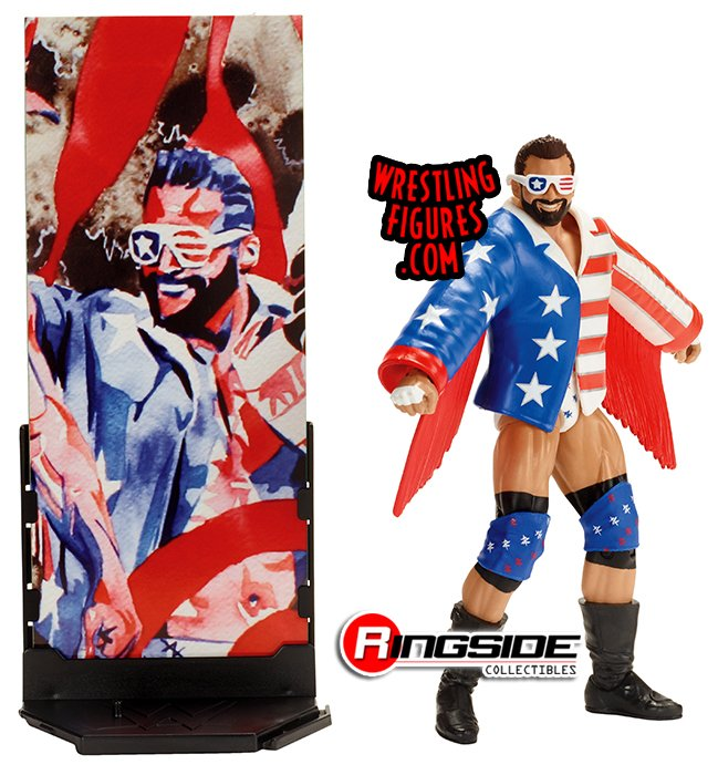 #WWWYKI! Be the pride of the #USA w/ @ZackRyder in #Mattel #WWE Elite 59! ringsidecollectibles.com/wwe-elite-59-t… #ZackRyder