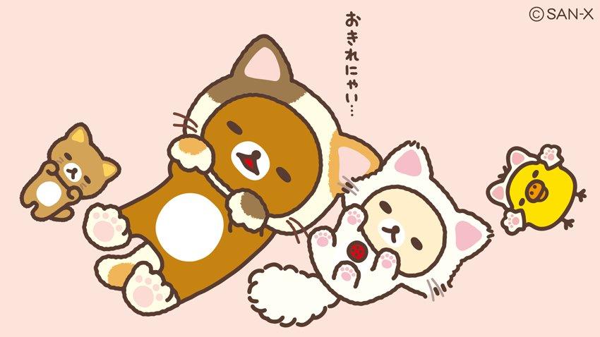 今日2月22日は、猫の日🐾 リラックマたちも猫になってみました♪  みんな、おこ...