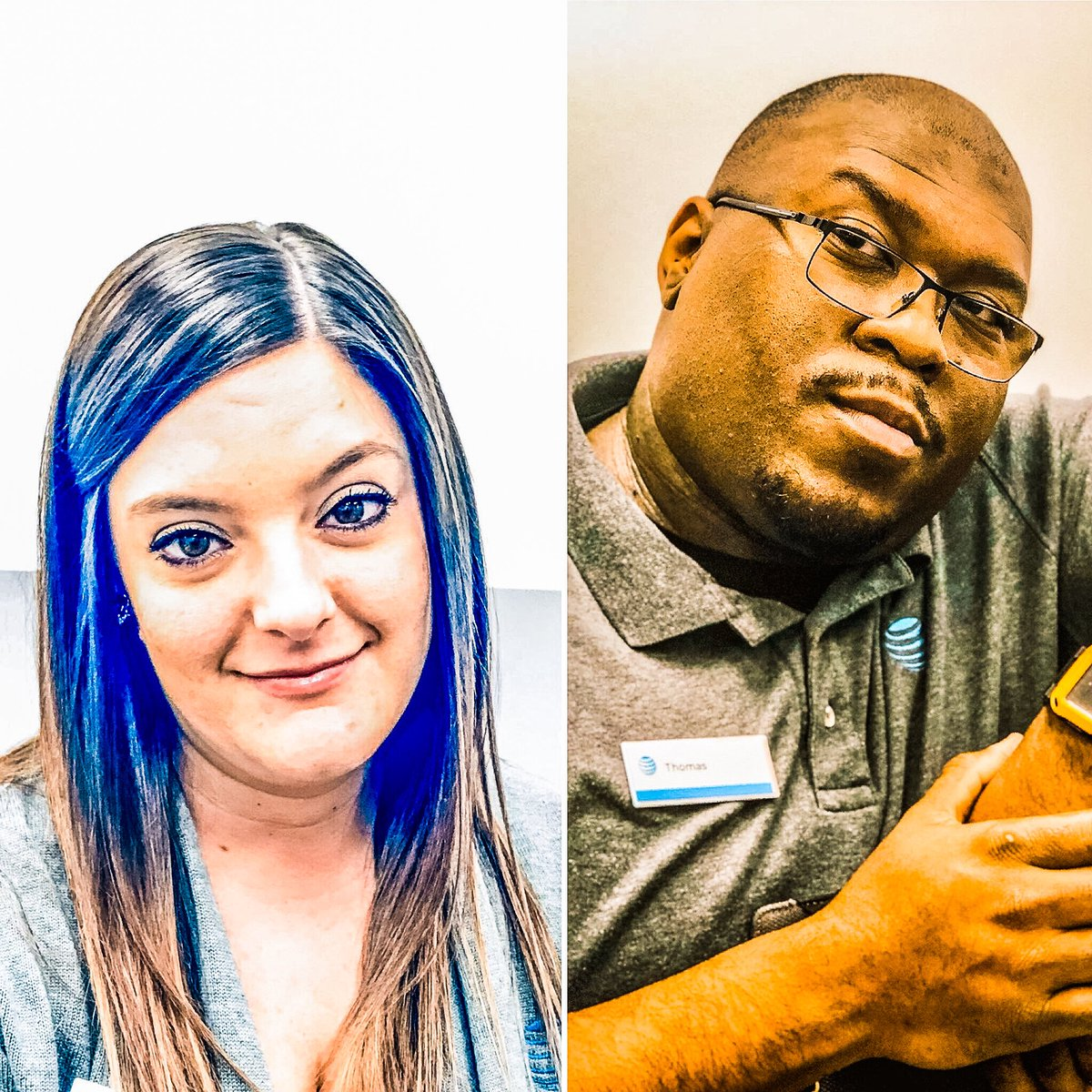 @A_Town817 @DaleB1 Infamous Faces of A-Town as Thomas scores a DTV NOW and Brianna with her 2nd Premium DTV today! #dawgpound #ChampionsLeague