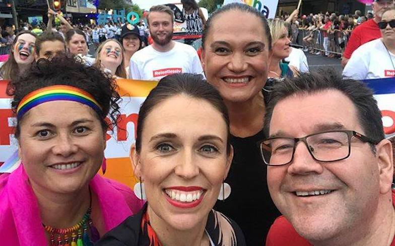 Jacinda Ardern becomes New Zealand's first PM to march in Pride Parade ��️‍��  https://t.co/n94KA8jWo9 https://t.co/t8BcvdgNpa