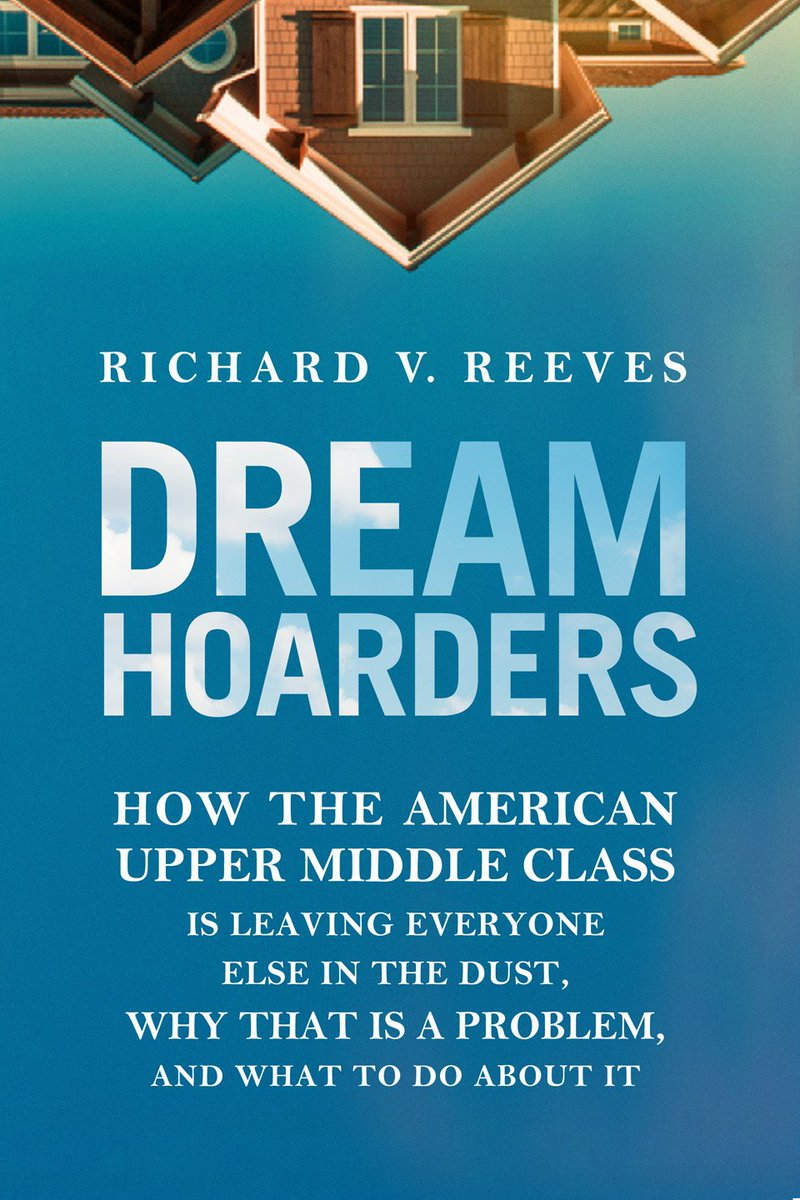 """Richard Reeves will discuss """"Dream Hoarders: How the American Upper Middle Class is Leaving Everyone in the Dust"""" on Feb. 26 at 6pm in Caldwell Hall in a free talk hosted by philosophy, politics & economics program: https://t.co/dbpKXVFtuX https://t.co/xGLu09y4gi"""