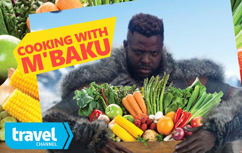 COOKING WITH #MBAKU @Winston_Duke @trave...