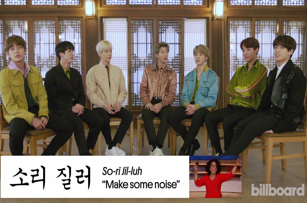 Watch BTS teach fans how to say popular Korean phrases https://t.co/L9ODXSmSsJ