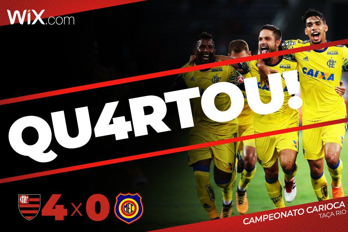 Com gols de Diego, Paquetá, Dourado e Vinicius Junior, goleamos o Madureira por 4 a 0 na estreia da Taça Rio. Uma bela estreia! Dá pra dizer que #Qu4rtou