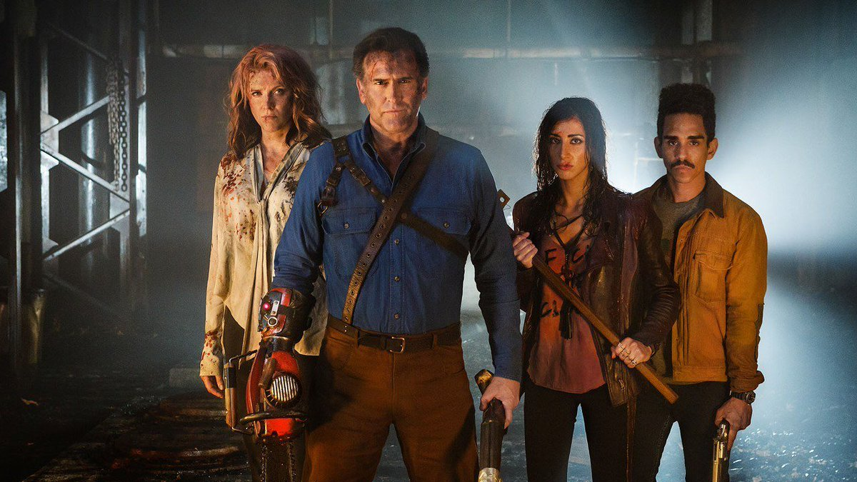 #AshvsEvilDead returns this Sunday, here...