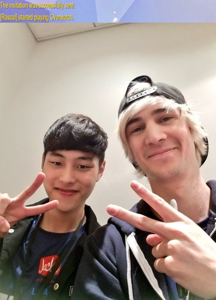 He accepted! Cheers to a new beginning with @Rascal and the return into @overwatchleague #BurnBlue