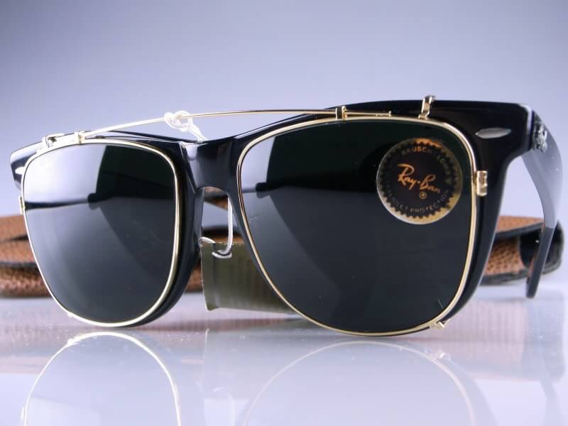 383acfd0b1d ... where to buy 2 ray ban clubmaster clip on sunglasses 51mm d9efe d2589