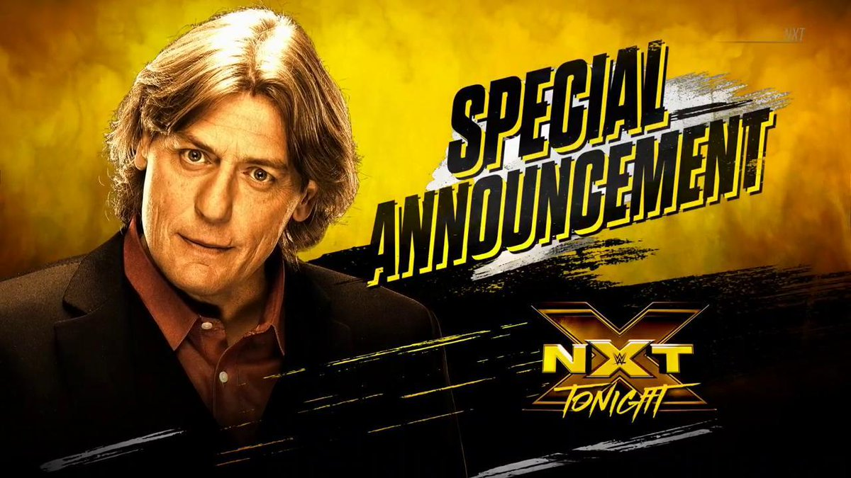 #WWENXT GM @RealKingRegal has a special announcement to make TONIGHT on @WWENetwork!