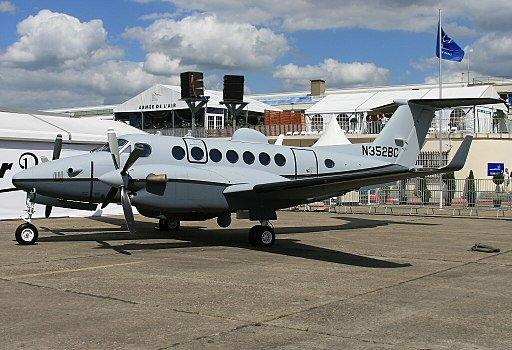 الكويت تشتري 4 طائرات King Air 350ER ISR DWmhkPJVMAA2XCT