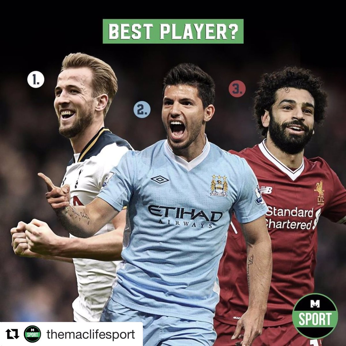 Harry Kane, Sergio Aguero and Mo Salah are lighting up this year's Premier League. We want to know who you think will finish top goal scorer? and with how many goals?  Place all your @premierleague football bets at @Betsafe for the best odds!  @Maclifeofficial