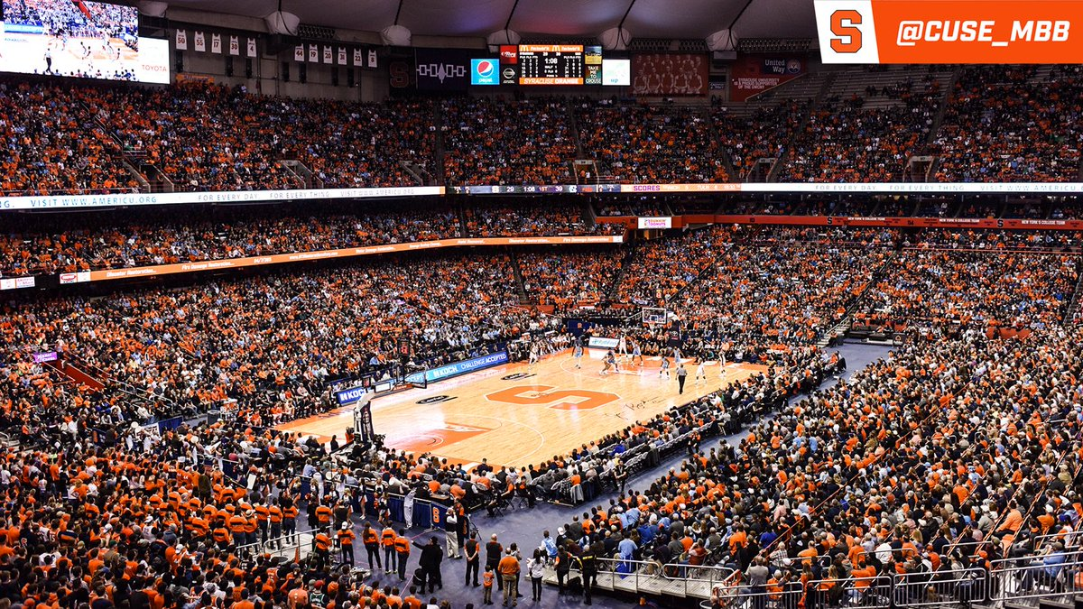 Syracuse Basketball On Twitter Tonight S Carrier Dome