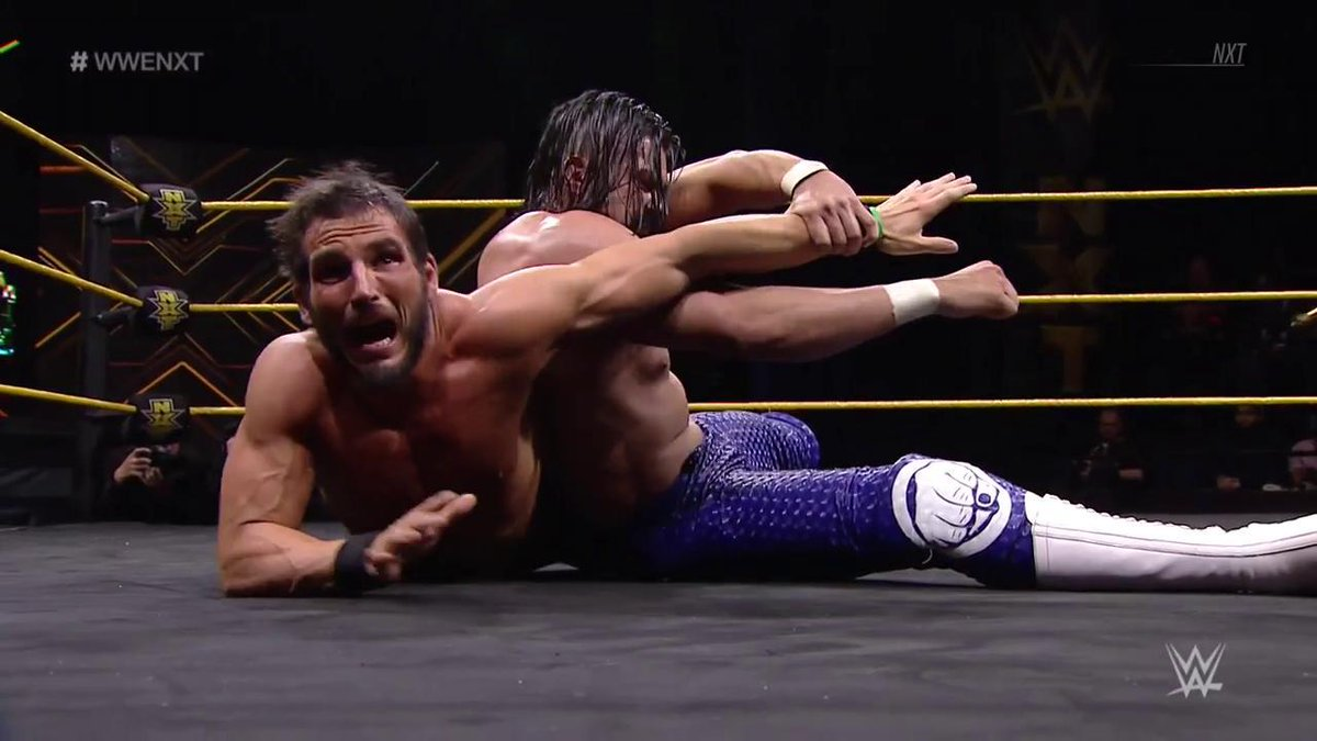 Could this be the end of @JohnnyGarganos #WWENXT career as we know it? @AndradeCienWWE