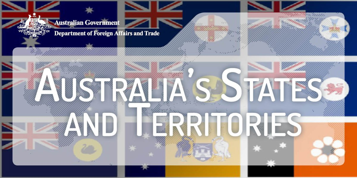 #DidYouKnow #China was the largest trading partner for all 6 States in 2016-17? Who were the Territories largest partners? dfat.gov.au/about-us/publi…